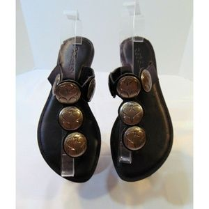 Rebels Banji black leather with silver conchos